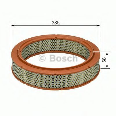 Воздушный фильтр BOSCH 1457432111