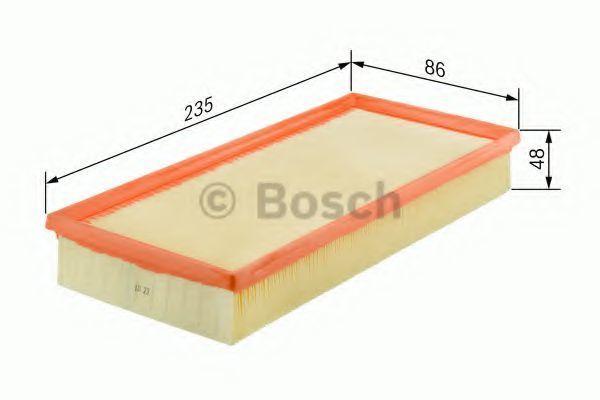 Фильтр воздушный BOSCH 1457432180