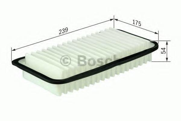 Фильтр воздушный BOSCH F026400114