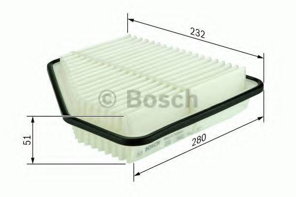 Фильтр воздушный BOSCH F026400162