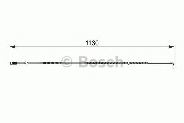 Датчик износа тормозных колодок BOSCH 1987474595