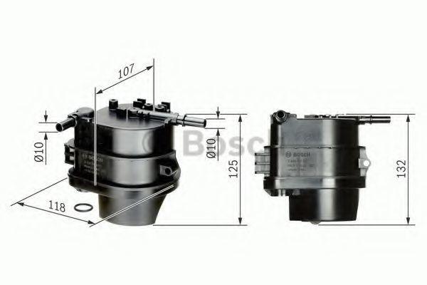 Фильтр топливный BOSCH 0450907007