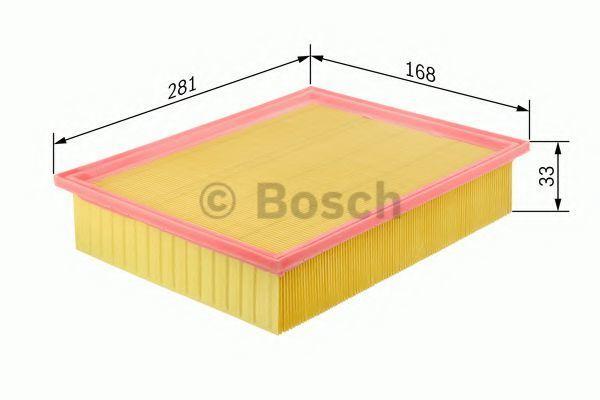 Воздушный фильтр BOSCH 0986626804