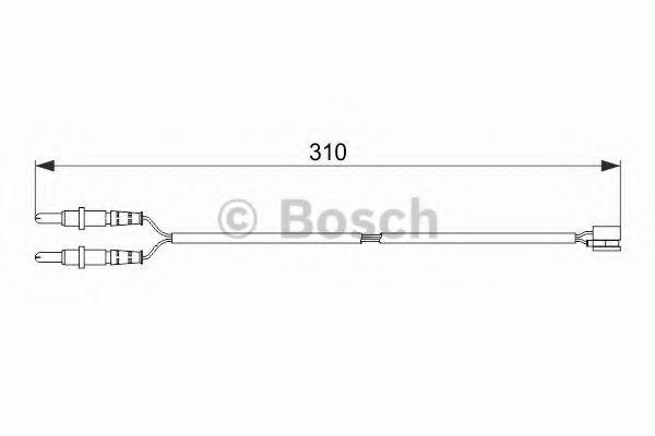 Датчик износа тормозных колодок BOSCH 1 987 474 519