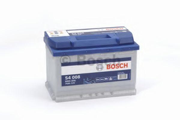 Аккумулятор S4 74Ач 680А BOSCH 0092S40080