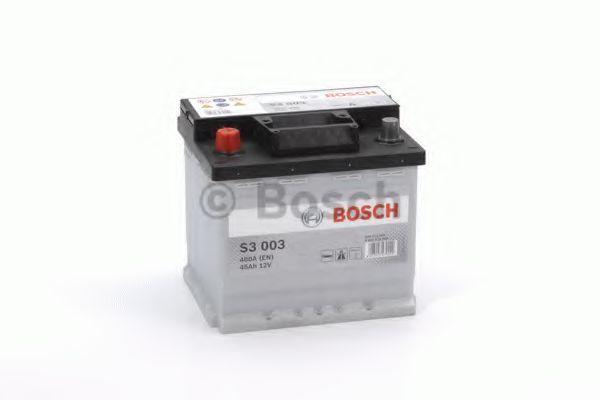 Аккумулятор S3 45Ач 400A BOSCH 0 092 S30 030
