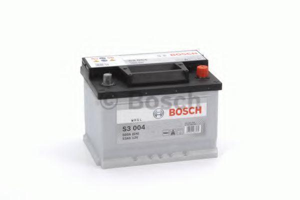 Аккумулятор S3 53Ач 500A BOSCH 0 092 S30 041