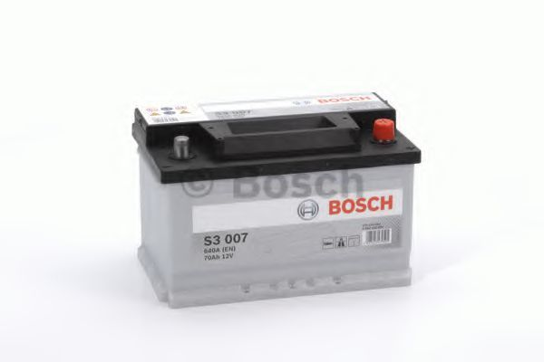 Аккумулятор S3 70Ач 640А BOSCH 0 092 S30 070