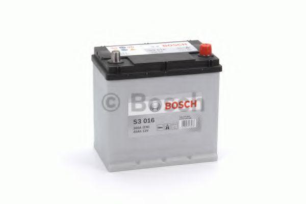 Аккумулятор S3 45Ач 300A BOSCH 0 092 S30 160
