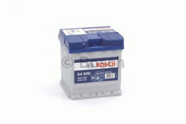 Аккумулятор S4 44Ач 420А BOSCH 0 092 S40 001