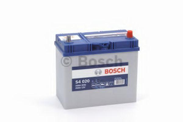 Аккумулятор S4 45Ач 330А BOSCH 0 092 S40 200