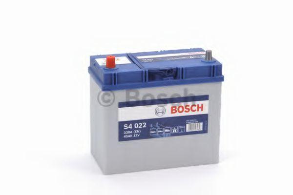 Аккумулятор S4 45Ач 330А BOSCH 0 092 S40 220