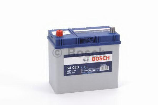 Аккумулятор S4 45Ач 330А BOSCH 0092S40230
