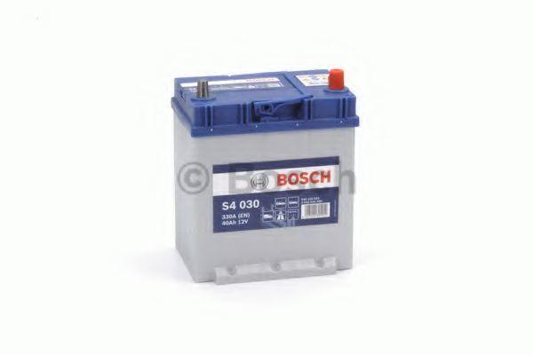 Аккумулятор S4 40Ач 330А BOSCH 0 092 S40 300