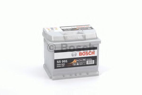 Аккумулятор S5 52Ач 520А BOSCH 0 092 S50 010