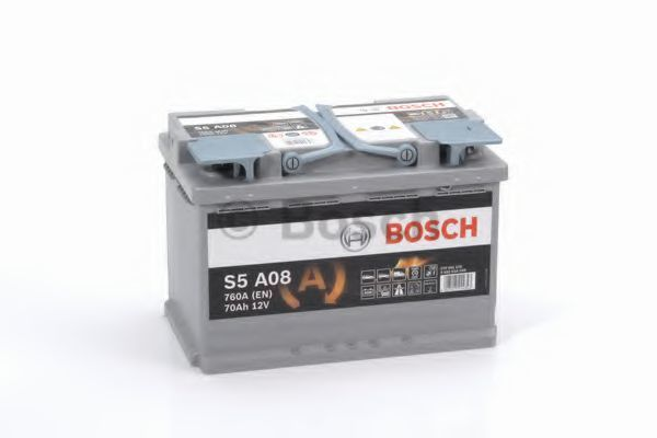 Аккумулятор гелевый AGM S5 70Ач 760А BOSCH 0 092 S5A 080