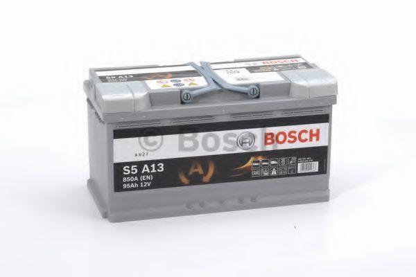 Аккумулятор гелевый AGM S5 95Ач 850А BOSCH 0 092 S5A 130