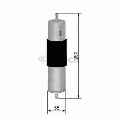 Фильтр топливный BOSCH F 026 402 847