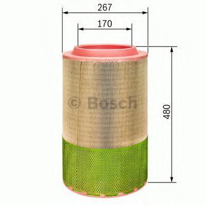 Воздушный фильтр BOSCH F026400249