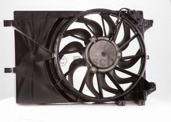 Электродвигатель, вентилятор радиатора BOSCH F006D10130