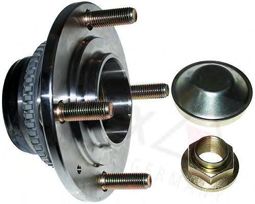 Комплект подшипника ступицы колеса AUTEX 803627