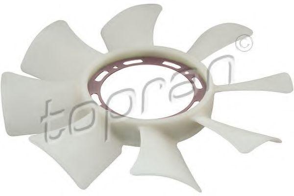 Крыльчатка вентилятора, охлаждение двигателя HANS PRIES/TOPRAN 820647