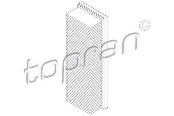 Фильтр воздушный HANS PRIES/TOPRAN 700415