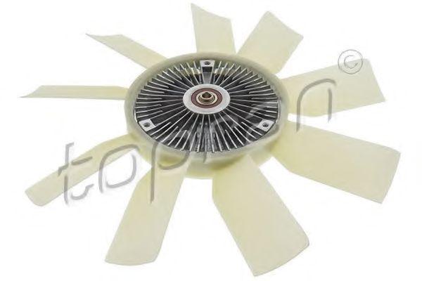 Сцепление, вентилятор радиатора HANS PRIES/TOPRAN 408633