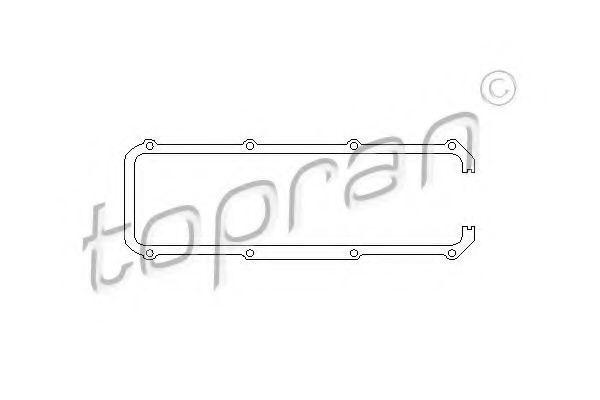 Прокладка клапанной крышки HANS PRIES/TOPRAN 100 197