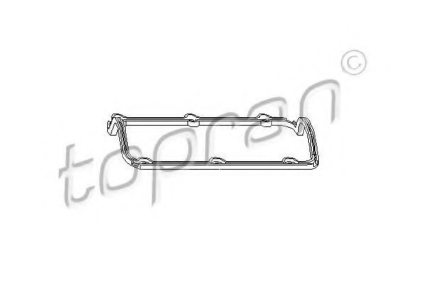 Прокладка клапанной крышки HANS PRIES/TOPRAN 101591