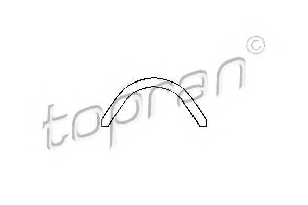 Прокладка клапанной крышки HANS PRIES/TOPRAN 101050