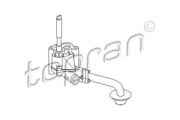Масляный насос HANS PRIES/TOPRAN 100208