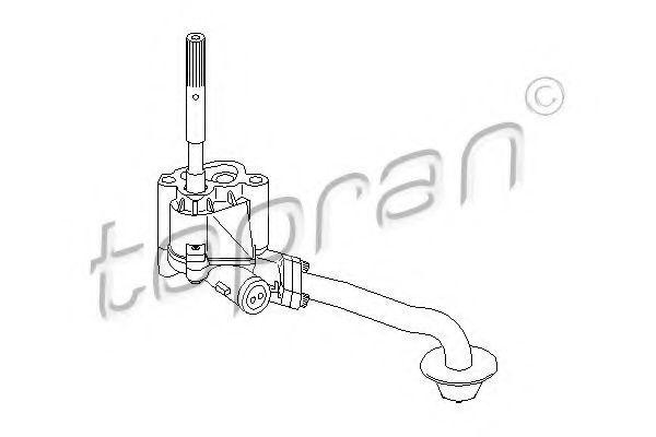 Масляный насос HANS PRIES/TOPRAN 109182