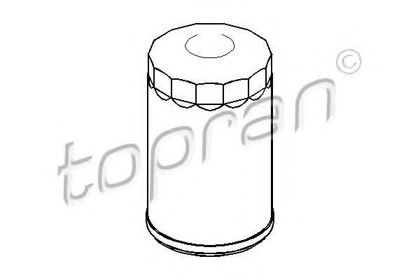 Фильтр масляный HANS PRIES/TOPRAN 100653