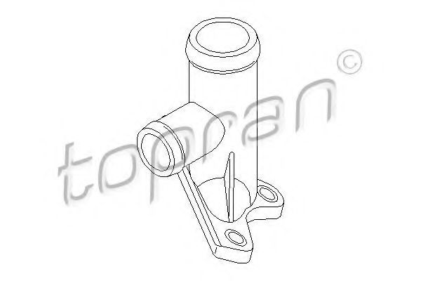 Купить Фланец системы охлаждения HANS PRIES/TOPRAN 100260