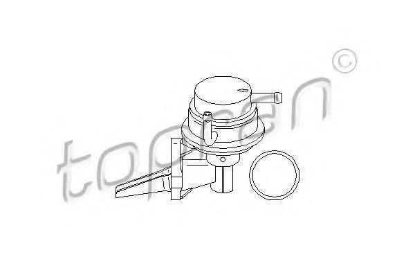 Насос топливный HANS PRIES/TOPRAN 100219