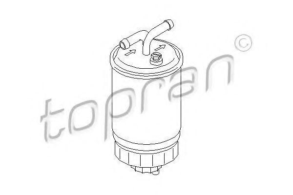 Фільтр паливний HANS PRIES/TOPRAN 102731