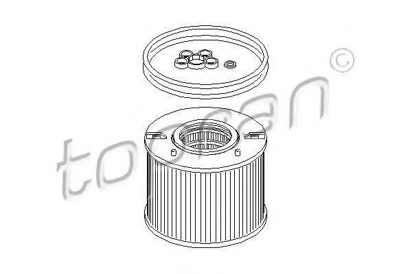 Фильтр топливный HANS PRIES/TOPRAN 111 787