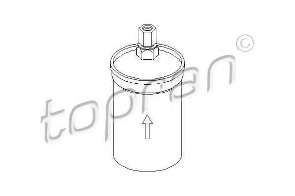 Фильтр топливный HANS PRIES/TOPRAN 104134