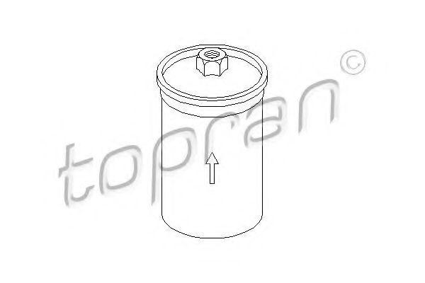 Фильтр топливный HANS PRIES/TOPRAN 104276