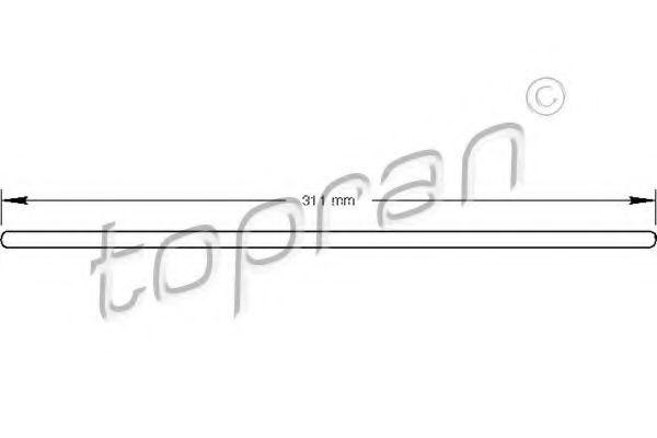 Центральный выключатель сцепления HANS PRIES/TOPRAN 100073