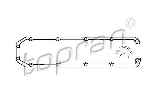 Прокладки комплект HANS PRIES/TOPRAN 100658