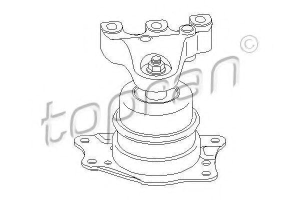 Опора двигателя HANS PRIES/TOPRAN 113305