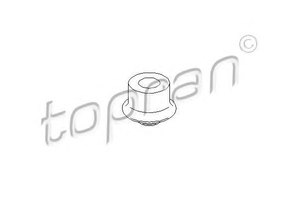 Опора двигателя HANS PRIES/TOPRAN 104135