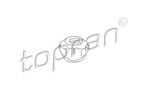 Опора двигателя HANS PRIES/TOPRAN 110 384