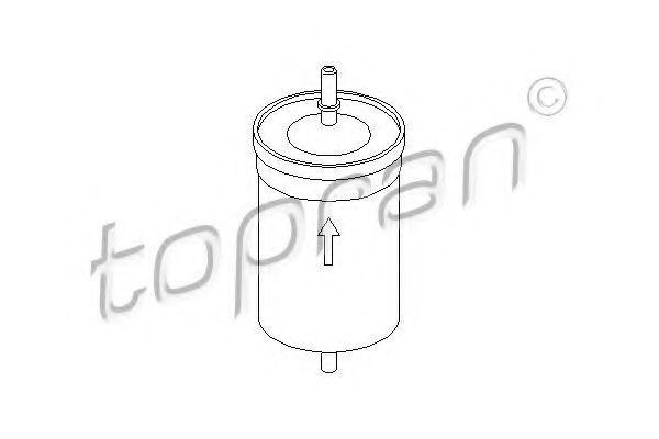 Фильтр топливный HANS PRIES/TOPRAN 103174