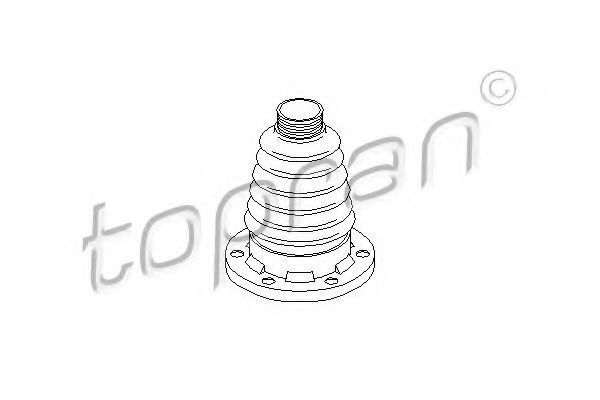 Пыльник ШРУС HANS PRIES/TOPRAN 111762