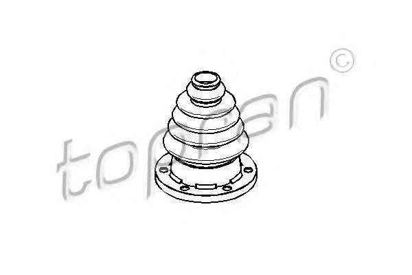 Пыльник ШРУС HANS PRIES/TOPRAN 109246