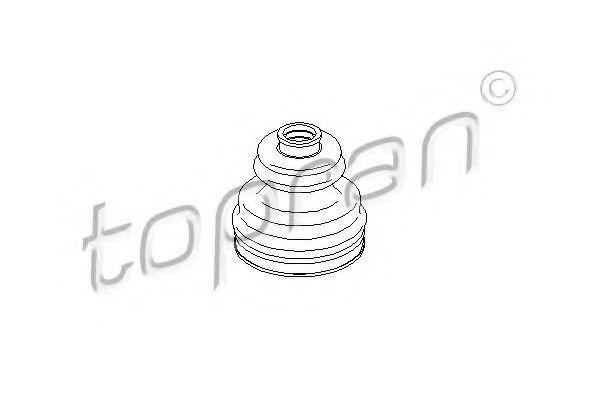 Пыльник ШРУС HANS PRIES/TOPRAN 111776
