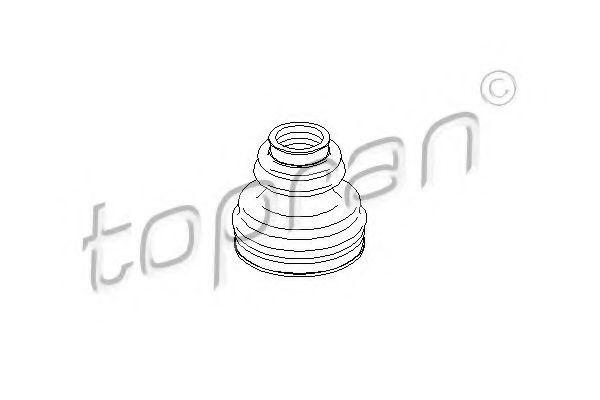 Пыльник ШРУС HANS PRIES/TOPRAN 111777
